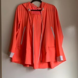 Bright Lululemon Pleated Shell Jacket